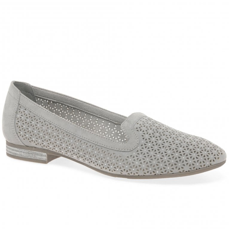 Soft Line (Jana) Acton Womens Punched Detail Shoes