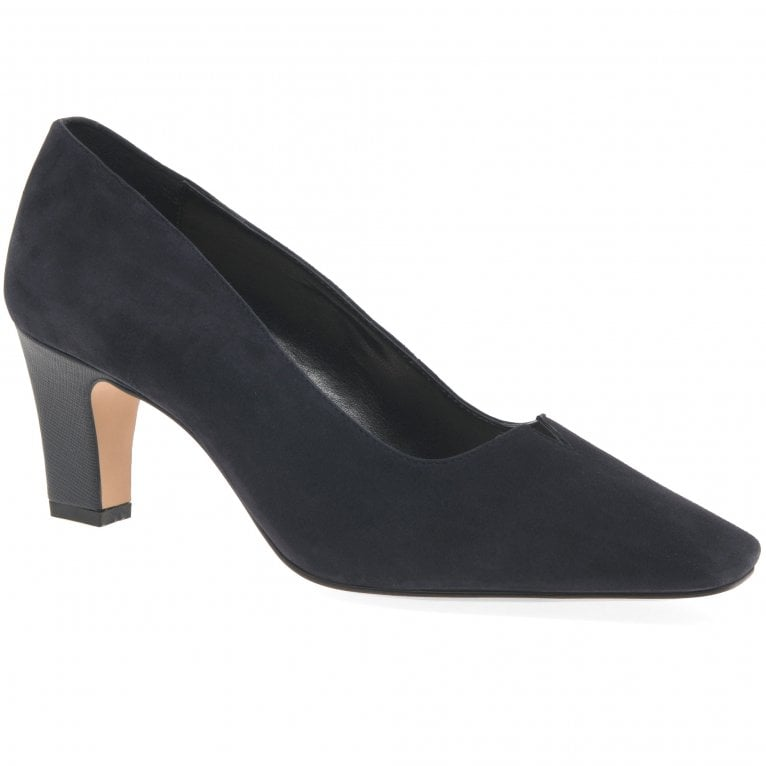 Van Dal Ophelia Womens Suede Court Shoes